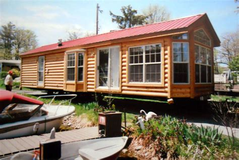 Log Cabin Park Models by Breckenridge Park Model Mobile Home Home Box Ideas