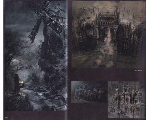 bloodborne official artworks bloodborne official design art works art book anime books