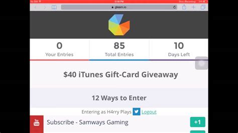 40 Itunes Gift Card - 40 itunes gift card giveaway international closed youtube