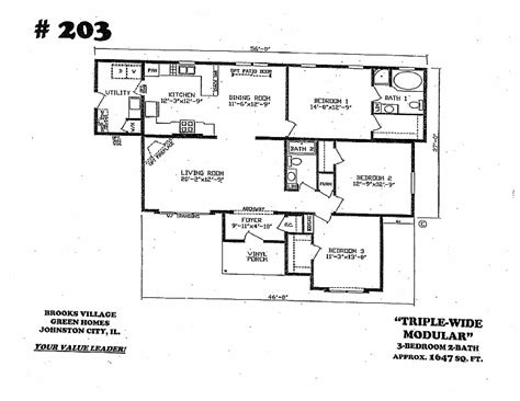 amish home floor plans fairmont triple wide home with maple cabinets and