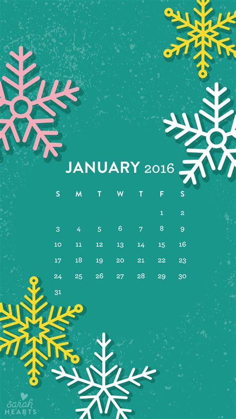 wallpaper desktop january 2016 january 2016 calendar wallpaper sarah hearts