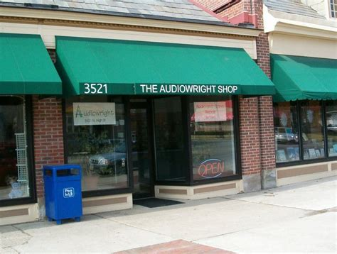 audiowright shop stereo repair  home theater repair