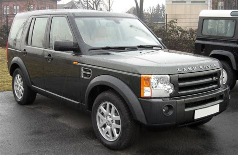 land rover discovery exterior file land rover discovery 3 front 20090204 jpg wikimedia