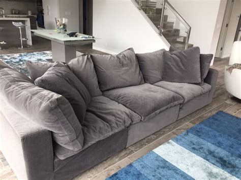 restoration hardware cloud sofa used normal wear luxury quot cloud couch quot from restoration