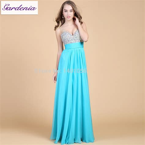 prom dress beaded top sweetheart wide straps low