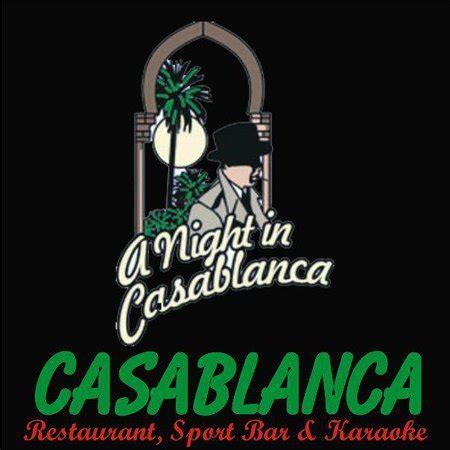 Casablanca Restaurant Sports Bar And Karaoke Port