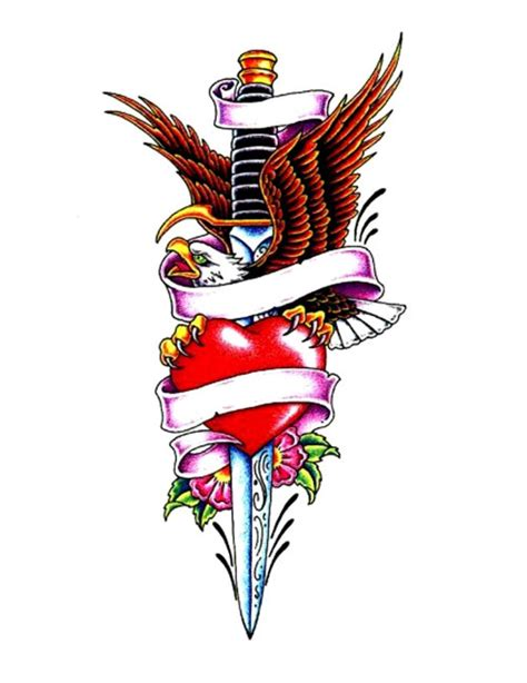 heart and dagger tattoo designs dagger drawing