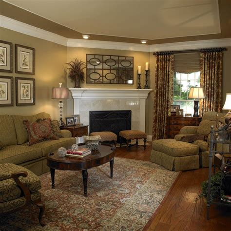 traditional home interiors living rooms peenmedia