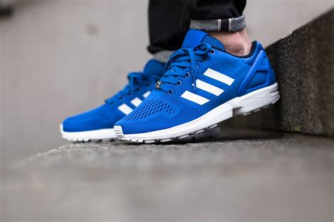 Adidas Zx Flux adidas zx flux blue sneakers addict