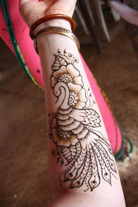 god s gift tattoo henna peacock god this is awesome for a