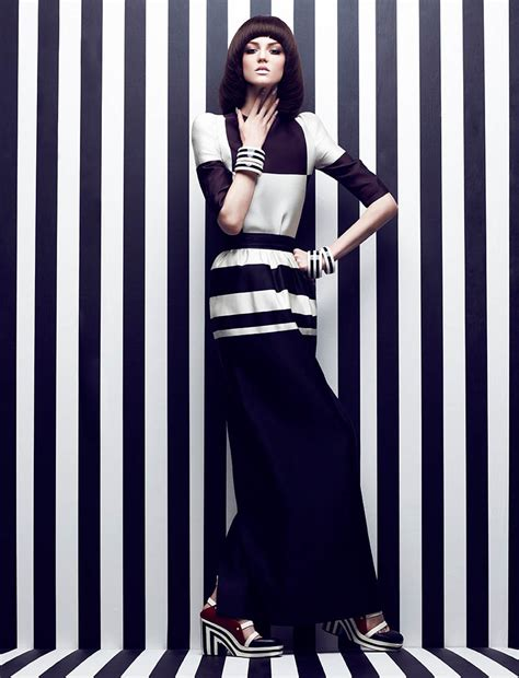 Stripes More Stripes Are The Stylish Answer To All Well Many Of Lifes Problems This Winter Fashiontribes Fashion by Black And White Stripe Trend Nyachii S