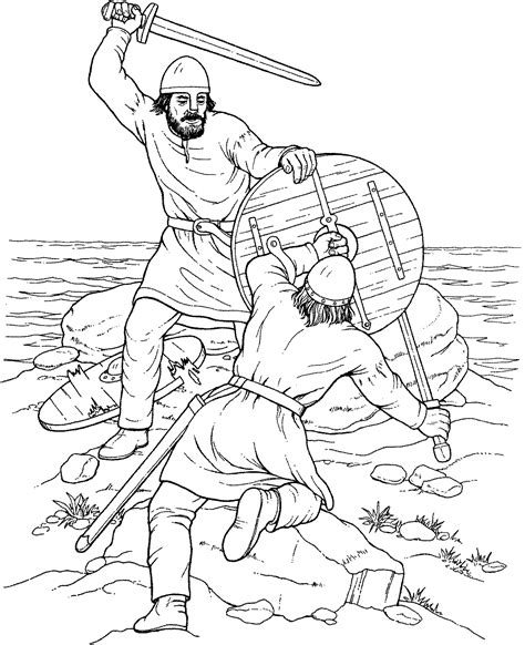viking ship coloring page free coloring home