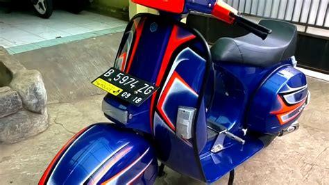 Modif Vespa Px Racing by Vespa Px 150 Cc Modif