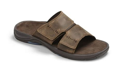 orthopedic sandals mens vionic jon brown slide sandal orthopedic s sizes 7 14