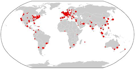 sporcle world cities map global city wikiwand