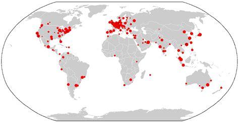 world city maps global city wikiwand