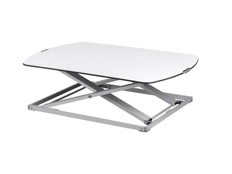 monoprice sit stand desk review ultra slim height adjustable sit stand desk