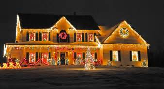 Pictures Of Decorated Homes Best Outdoor Christmas Decorating Ideas Interior