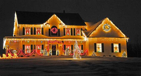 decorated houses decorations xmas tree decorations ideas neighbor still has
