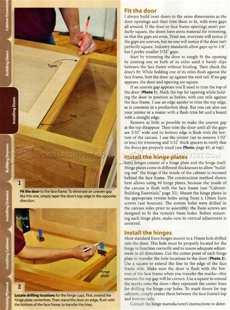 how to install doors on a cabinet how to install cabinet doors woodarchivist