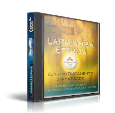 biblia del ministro rv60 0829720618 la palabara eterna el nuevo testamento dramatizado mp3 libros cristianos que edifican