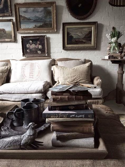 vintage home interiors eclectic mix boho bohemian chic rustic decor interior