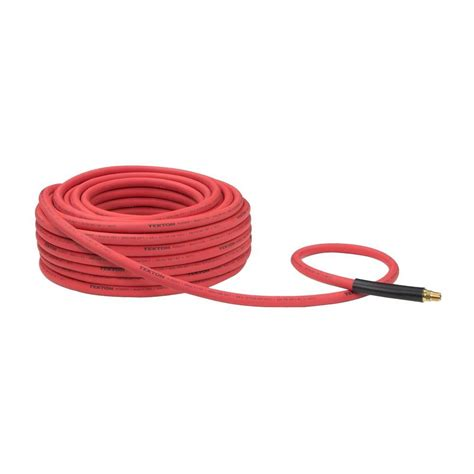 tekton 100 ft x 3 8 in i d rubber air hose 250 psi