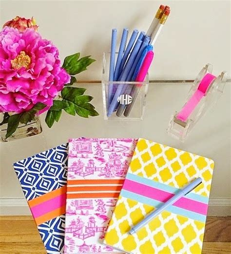 Preppy Desk Accessories Apartment Refresh Design