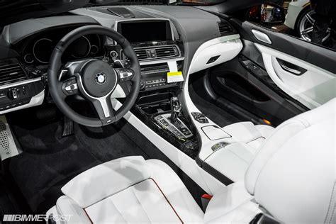 Bmw Opal White Interior by La Auto Show 2013 M Sport Edition 650i Convertible In Sakhir Orange Opal White