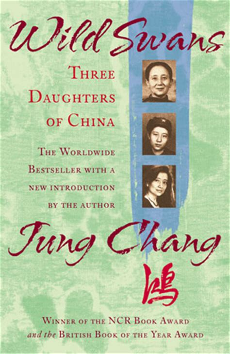 three daughters of books swans three daughters of china jung chang 張戎 张戎