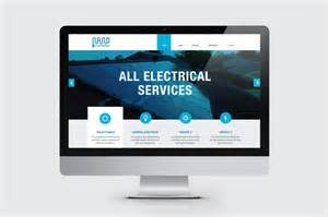 Design Elements For Home Nano Electrical Website Design Jane Telford Creative Design