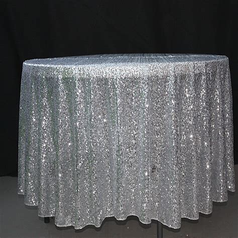 90 inch gold sequin tablecloth overlay event