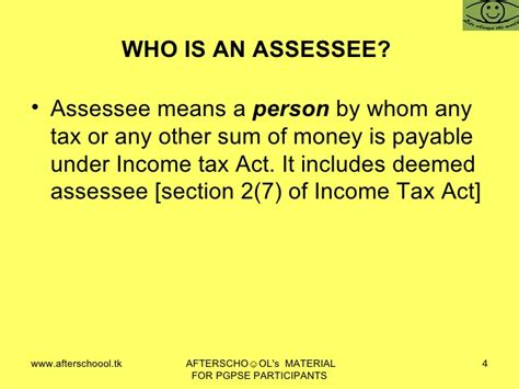section 4 of income tax act section 4 income tax act in come tax law of india