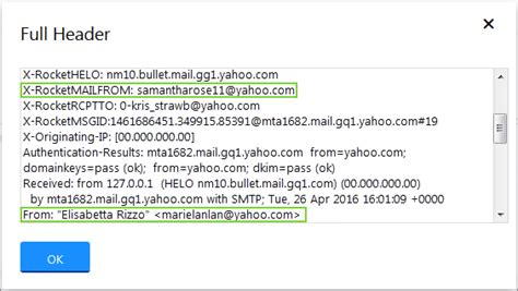 yahoo email delay use full headers to find delivery delays or a forged email