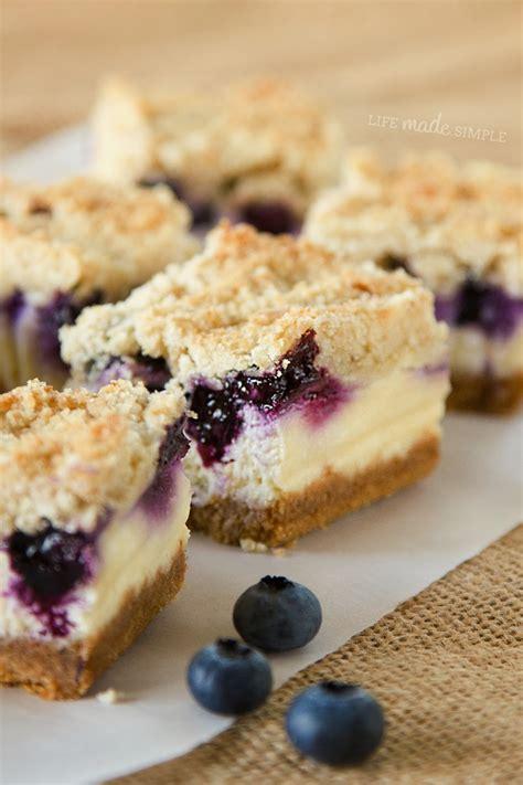 blueberry recipe blueberry cheesecake bars