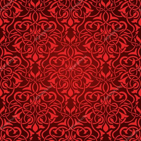 red pattern vector red seamless wallpaper pattern stock vector 169 zybr78