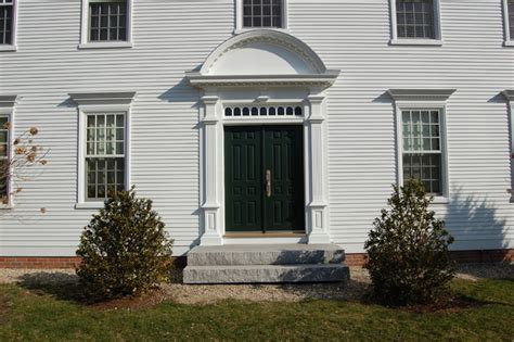 colonial style front doors cch new federal one traditional front doors boston