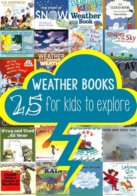 weather picture books books for weather and for on