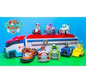 PAW PATROL Nickelodeon Vehicles Numbers Paw Patroller