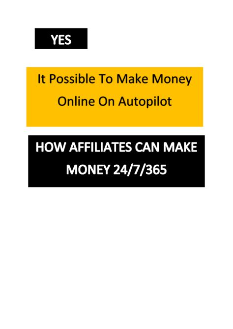 is it possible to make money online on autopilot authorstream - Is It Possible To Make Money Online