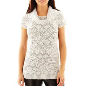 Worthington Jumper Original worthington textured cowlneck tunic sweater where to buy