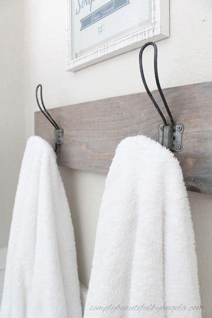 Winzige Badezimmer Lagerung by Die Besten 25 Diy Bathroom Towel Hooks Ideen Auf