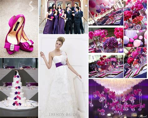 wedding ideas pink and purple wedding theme chainimage