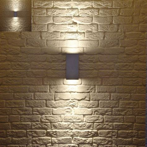 Contemporary Outdoor Lighting Fixtures Big Theo Up Outdoor Wall Light Modern Outdoor Wall Lights And Sconces By