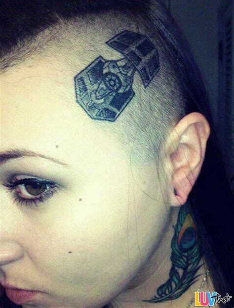 tie fighter tattoo awesome wars tattoos luvthat