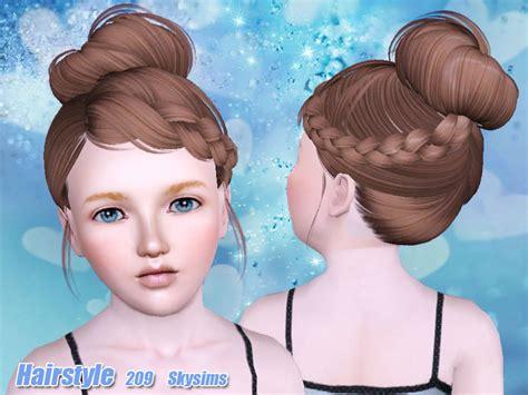 skysims hair toddler 209 i the sims 3 pinterest sims skysims hair child 209 i