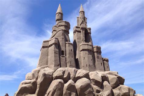 monumental sandcastles on cannon beach june 11 2016