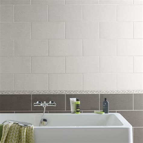Faience Cuisine Moderne Grise by Fa 239 Ence Mur Anthracite Trend L 20 X L 40 Cm Leroy Merlin