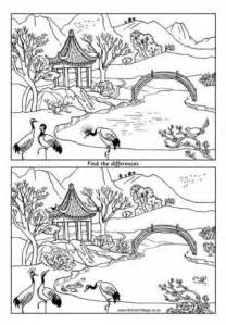 chinese goat coloring page collections
