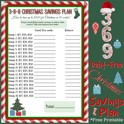 25 unique christmas savings plan ideas on pinterest